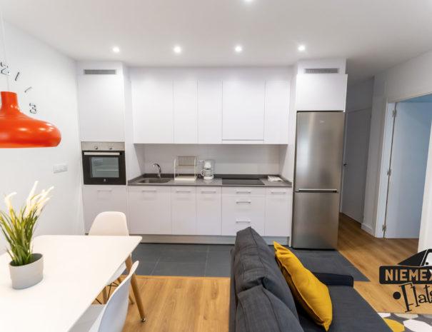 Niemeyer Flats cocina
