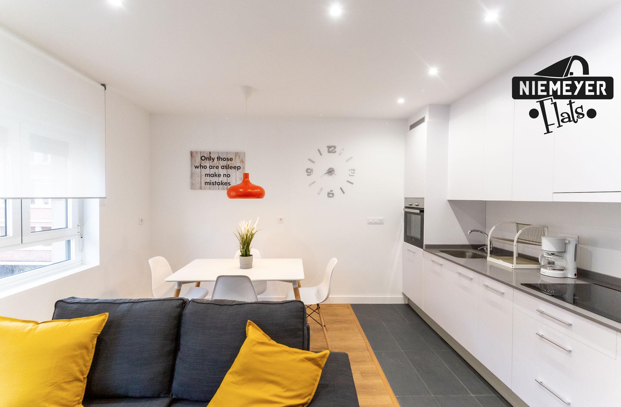Niemeyer Flats cocina-comedor