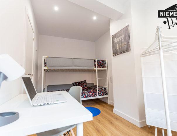 Niemeyer Flats habitación literas